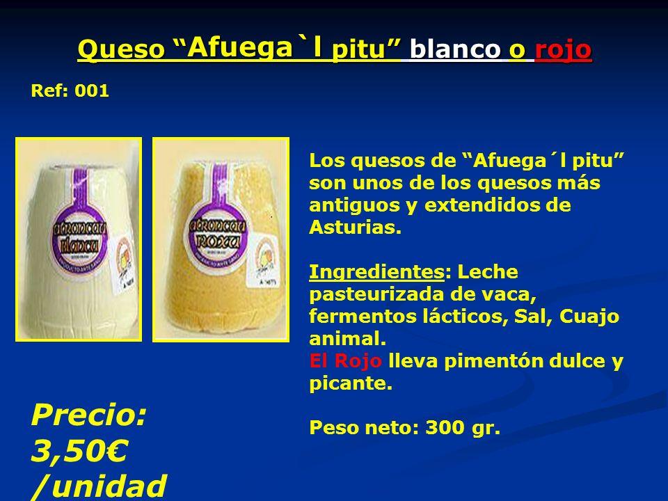 Queso Afuega`l pitu blanco o rojo Los quesos de Afuega´l pitu son unos de los quesos más antiguos y extendidos de Asturias.