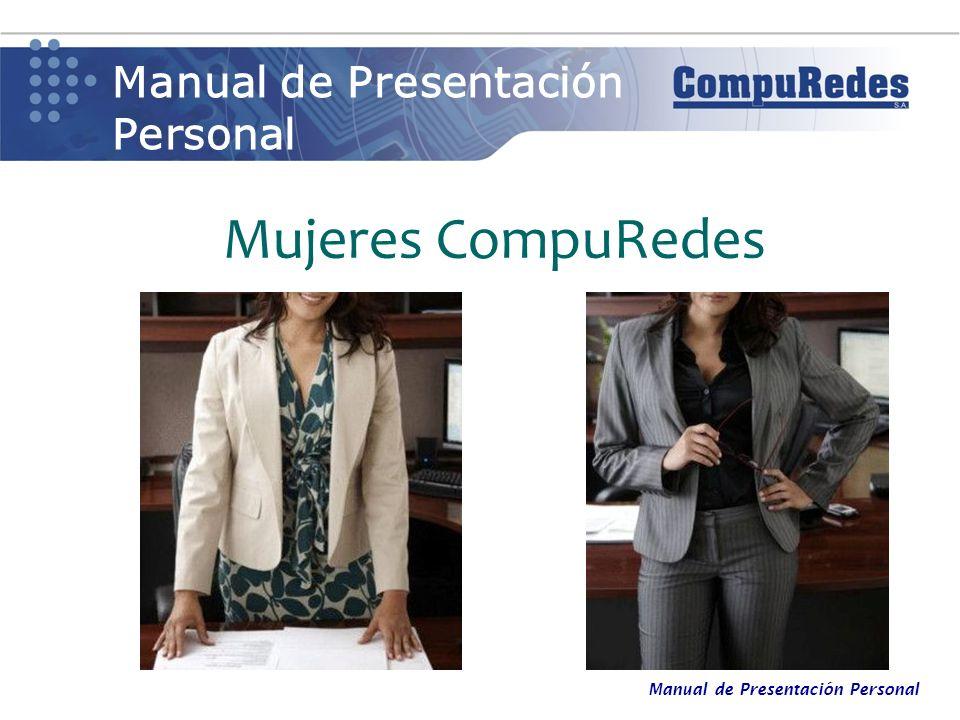 Mujeres CompuRedes Manual de Presentación Personal