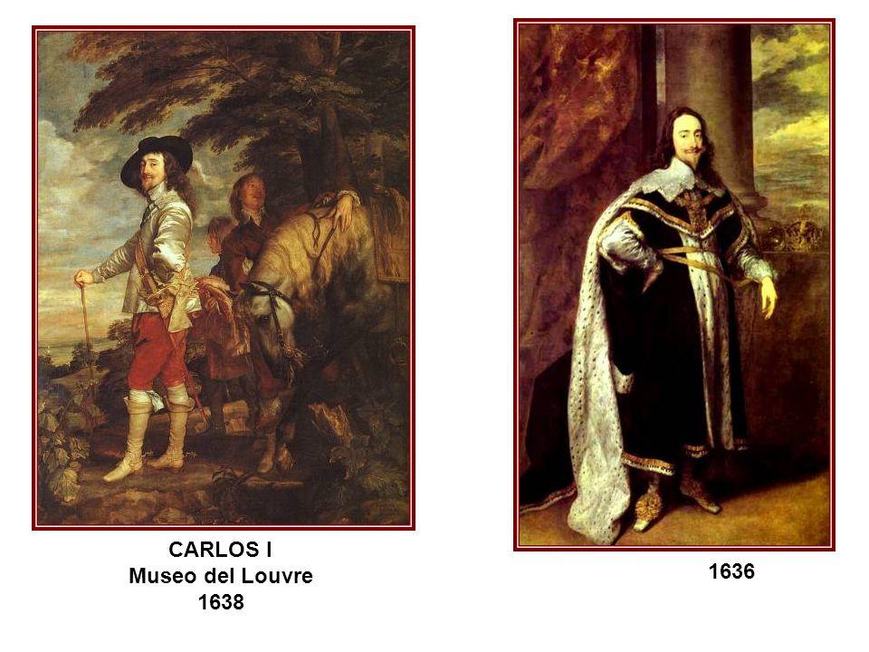 1636 CARLOS I Museo del Louvre 1638