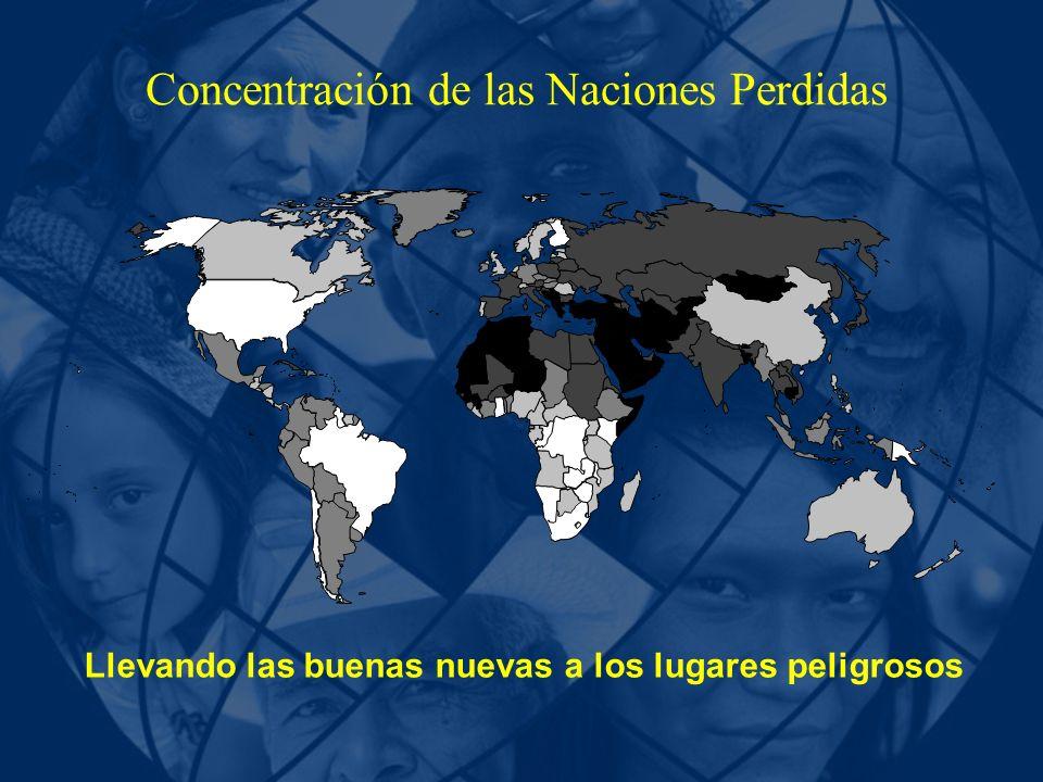 Concentración de las Naciones Perdidas Llevando las buenas nuevas a los lugares peligrosos