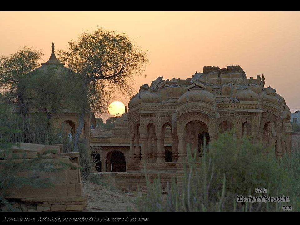 Fuerte de Jaisalmer, el único fuerte habitado de la India