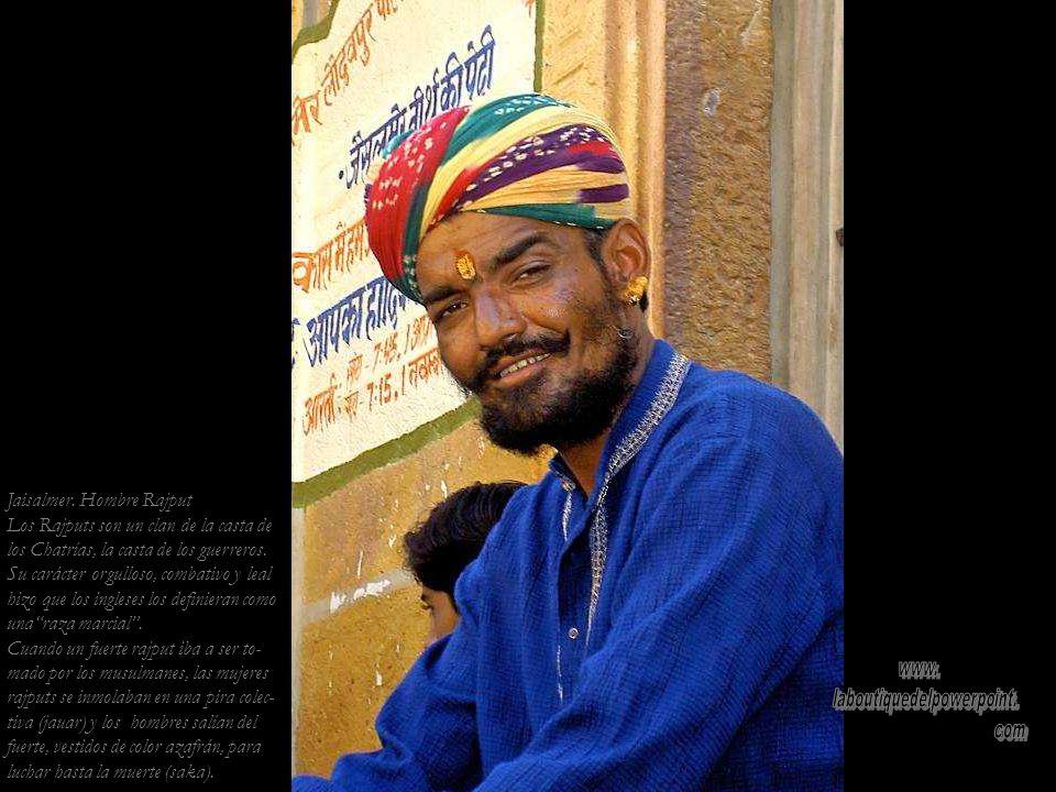 Jaisalmer. Mujer de la casta Brahman (sarcerdotes)