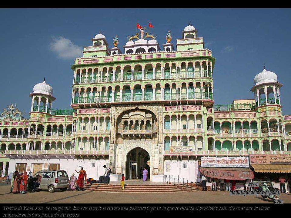 Templo de Rani Sati de Jhunjhunu.