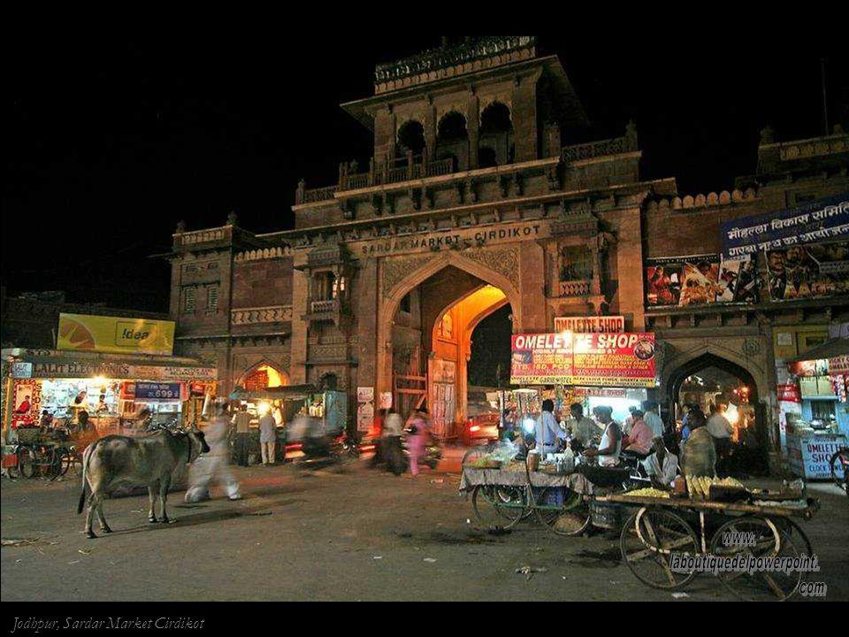 Muchacha en Jodhpur