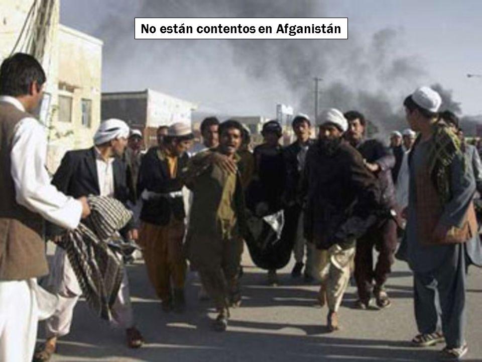 No están contentos en Irak