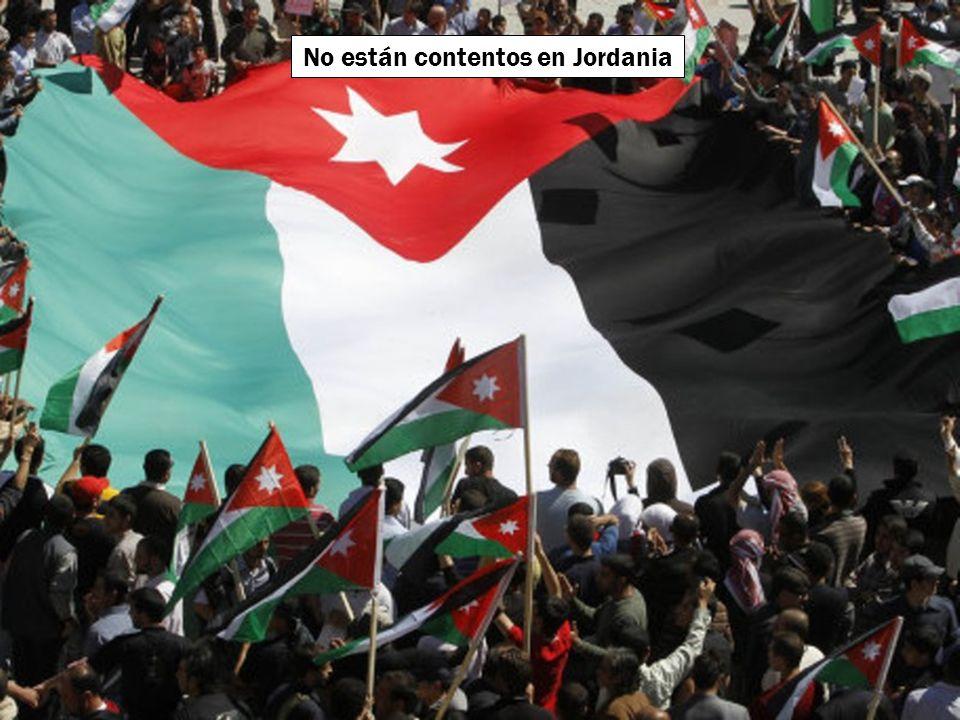 No están contentos en Sudán
