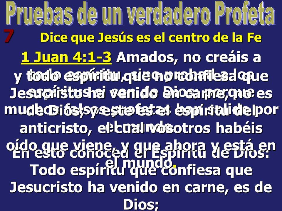 6 Reprueba el pecado Jeremías 23:22 Pero si ellos hubieran estado en mi secreto, habrían hecho oír mis palabras a mi pueblo, y lo habrían hecho volver