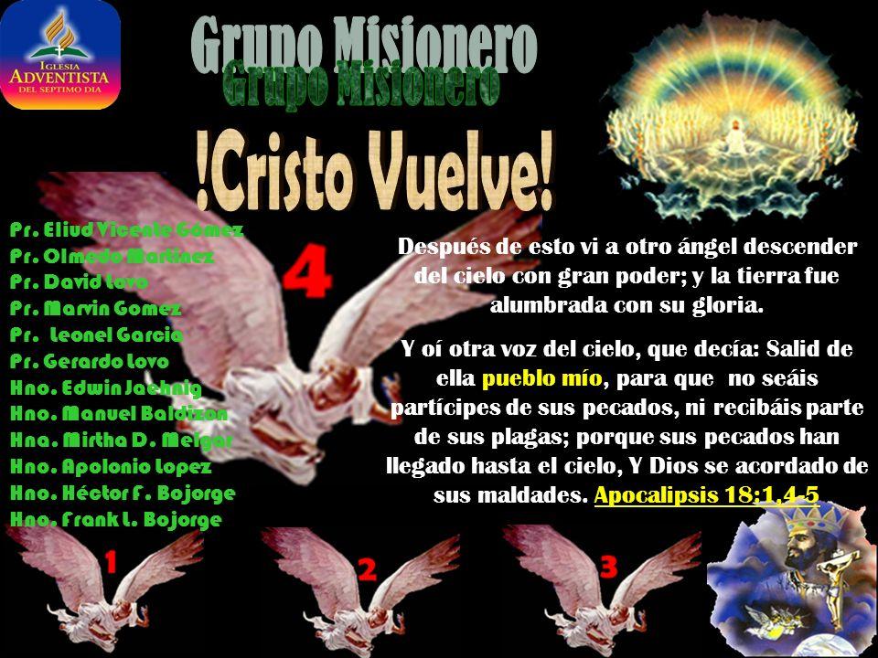 Pr.Eliud Vicente Gómez Pr. Olmedo Martinez Pr. David Lovo Pr.