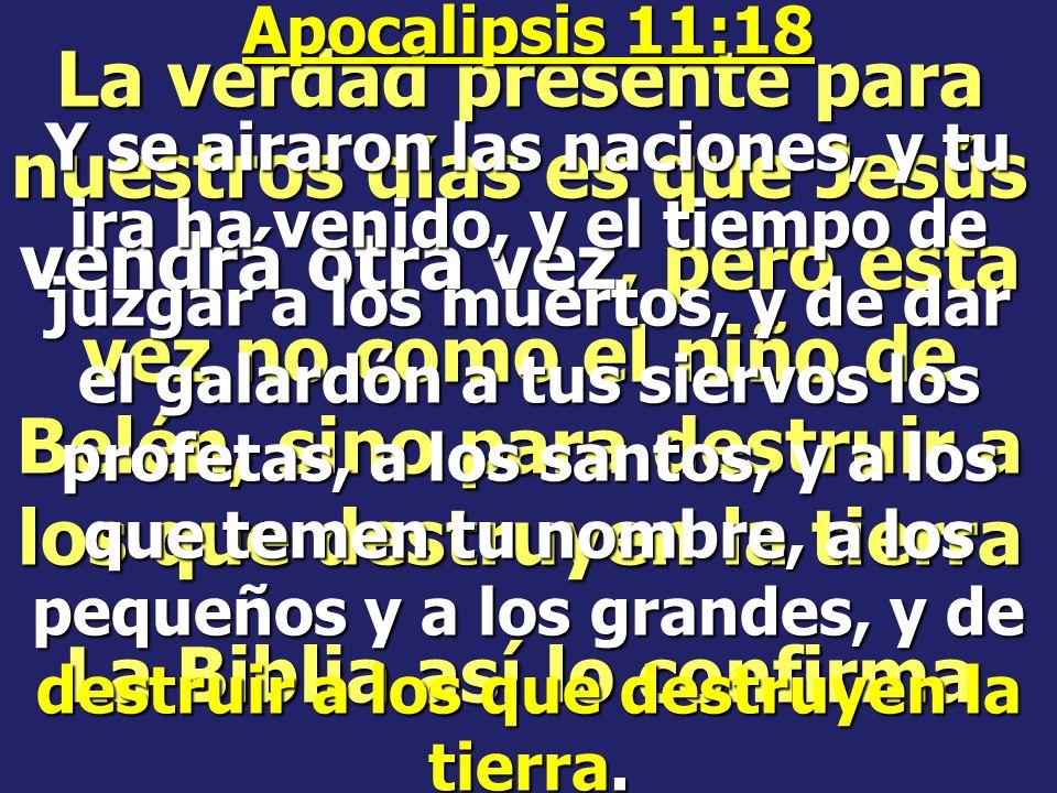 Noé predicó 120 años que venía la destrucción, pero los hombres, en vez de creerle, se burlaron de él y todos perecieron, excepto Noé y su familia.