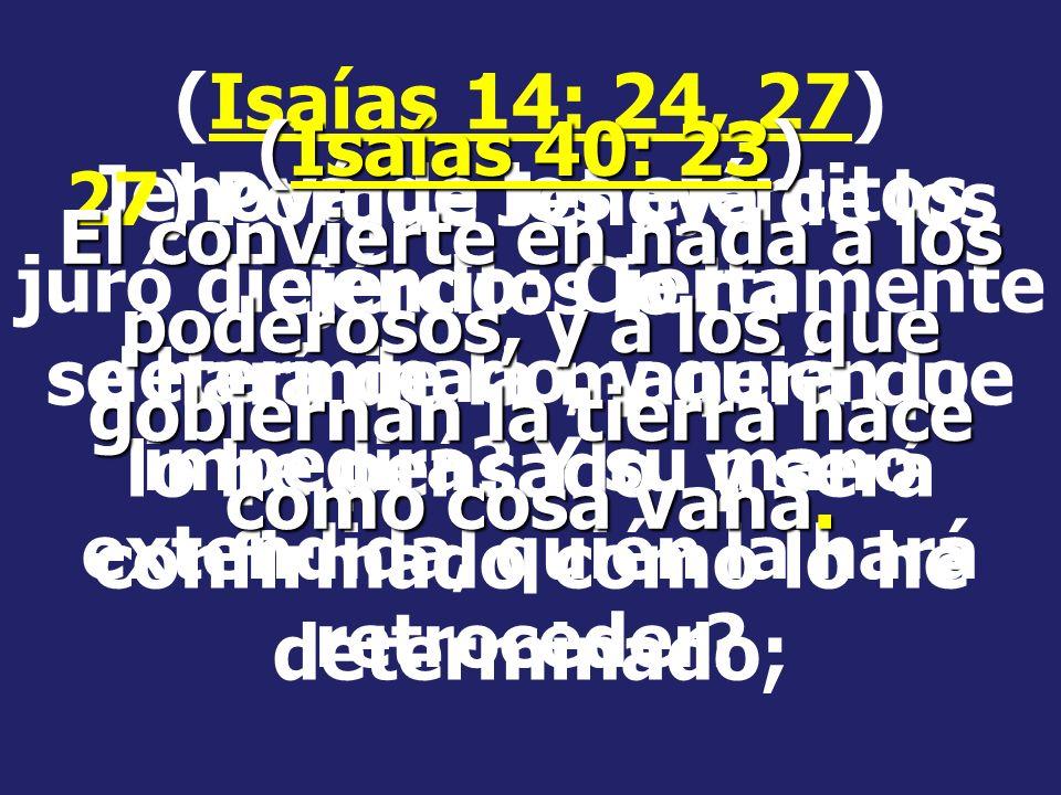Las profecías bíblicas se han cumplido en el pasado; podemos pues confiar que en el futuro también se cumplirán. Una profecía que se ha cumplido, nos