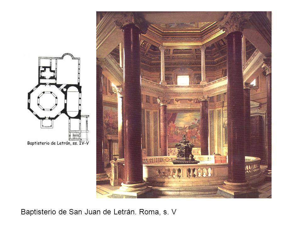 Baptisterio de San Juan de Letrán. Roma, s. V