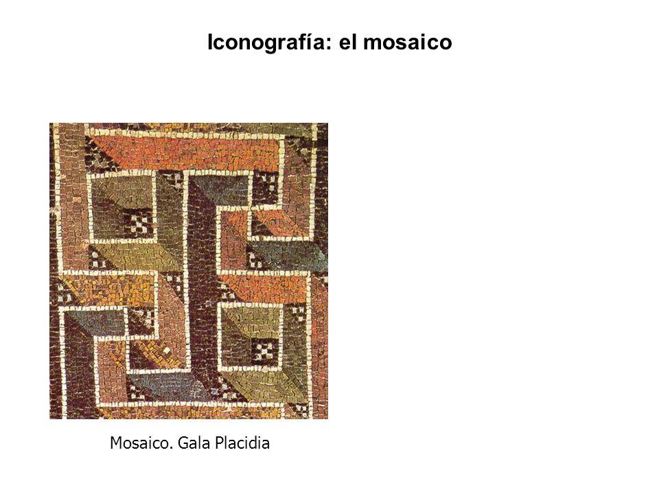 Mosaico. Gala Placidia Iconografía: el mosaico