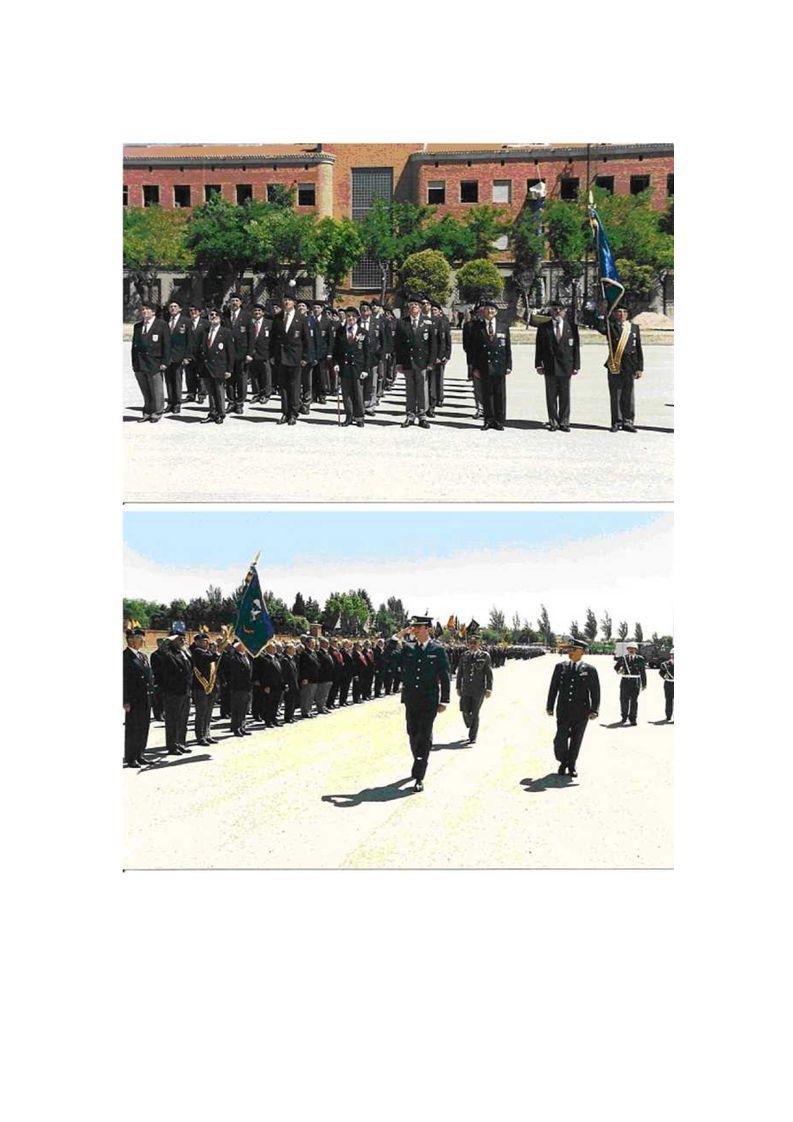Alteza, dijo dirigiéndose a S.A.R. …Los Veteranos de las Fuerzas Armadas, reunidos en este 15 de Junio, bajo el tórrido calor de Castilla, adoptan la