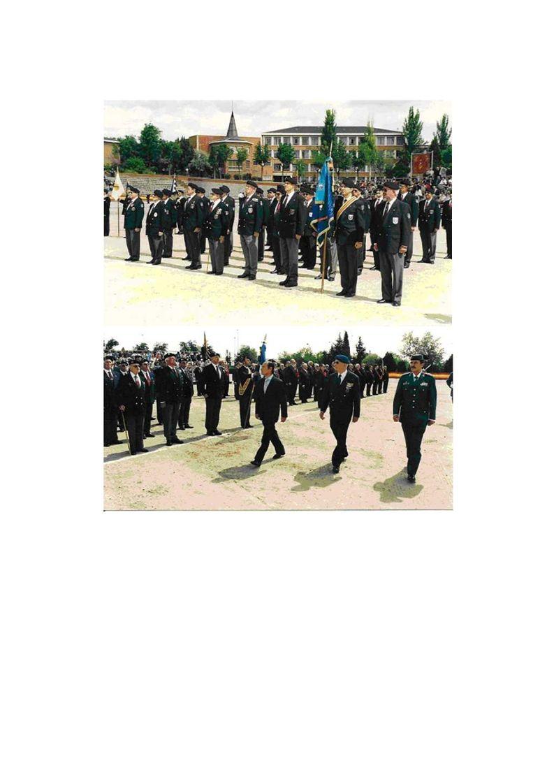 IV DÍA DEL VETERANO DE LAS FAS El día 18 de Mayo de 2002 y organizado por la Hermandad de Veteranos de las Fuerzas Armadas y Guardia Civil se celebró