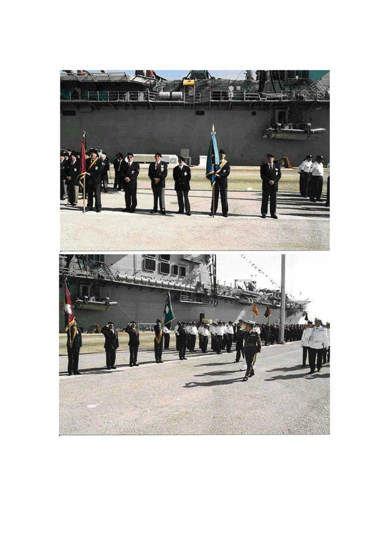 VI DÍA DEL VETERANO DE LAS FAS Organizado por el Ministerio de Defensa, se celebró en la Base Aéreo Naval de Rota (Cádiz) el día 23 de Octubre de 2004