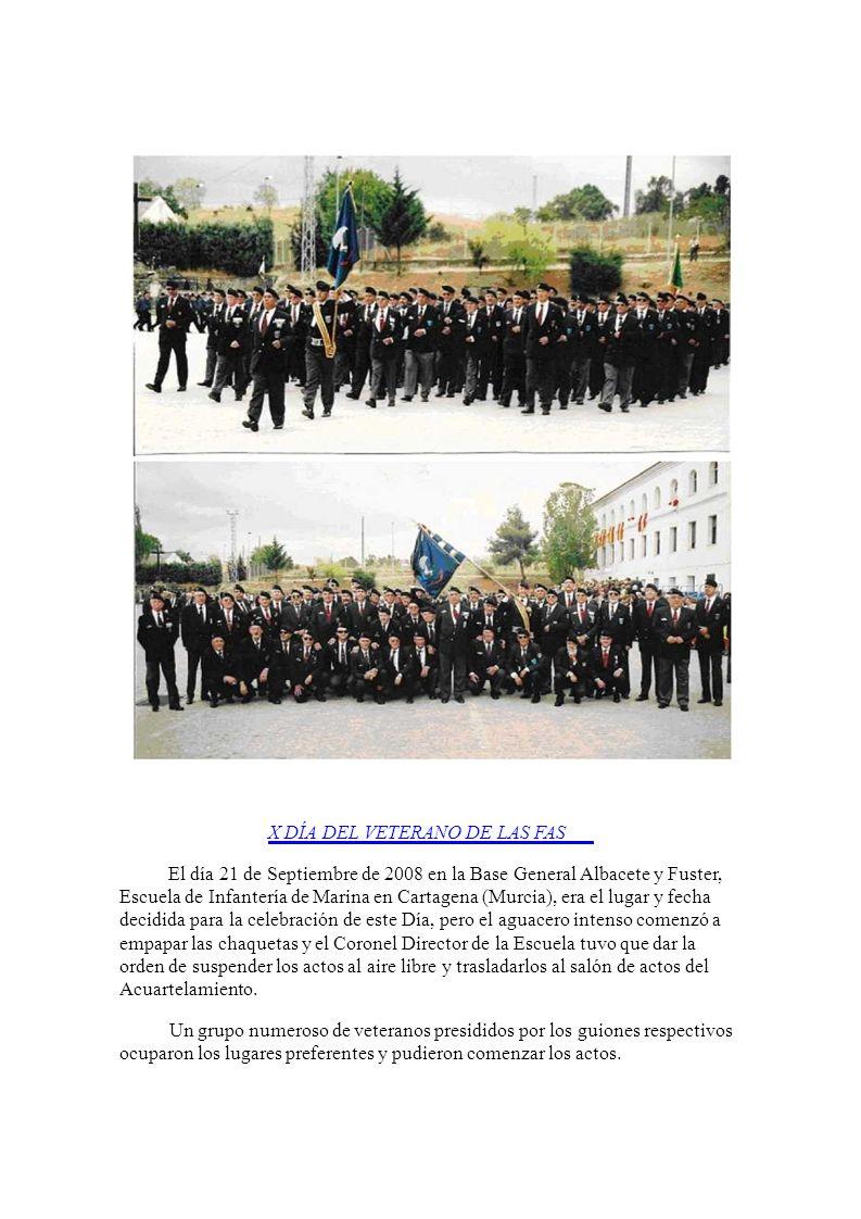 BRIAC XII en su baso del Goloso (Madrid) por ser el Ejército de Tierra a quién correspondía. Fue presidido por el JEMAD acompañado por entre otros Gen