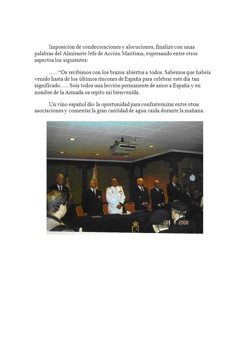 X DÍA DEL VETERANO DE LAS FAS El día 21 de Septiembre de 2008 en la Base General Albacete y Fuster, Escuela de Infantería de Marina en Cartagena (Murc