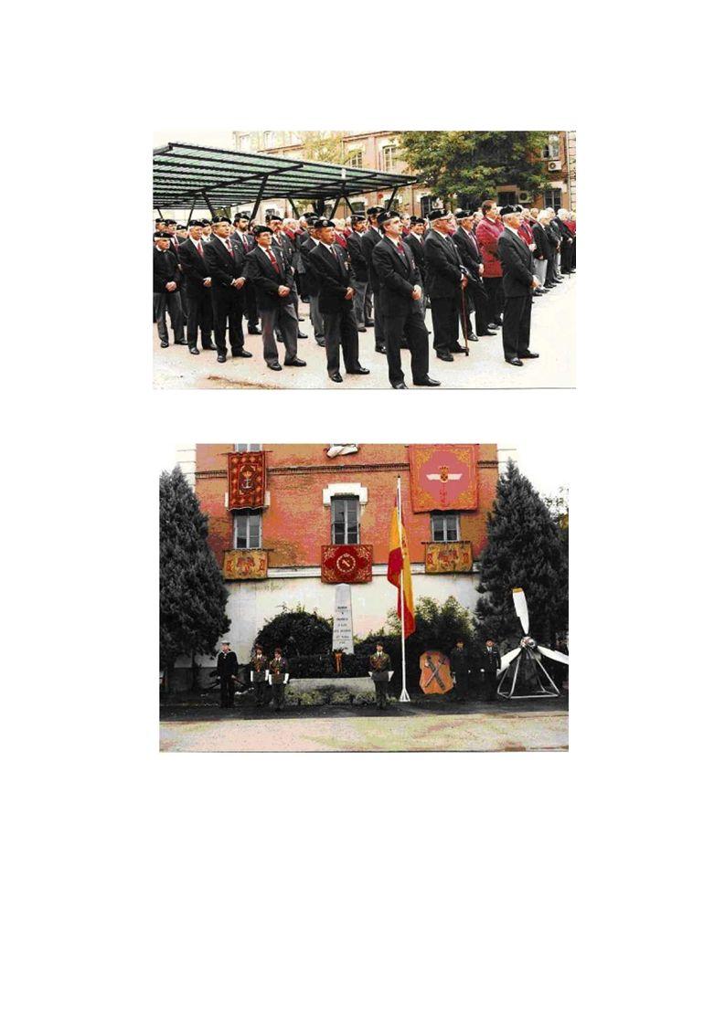….. Hemos bautizado este encuentro como el DÍA DEL VETERANO, porque los militares de la milicia y el tricornio –hoy veteranos- quieren identificarse,
