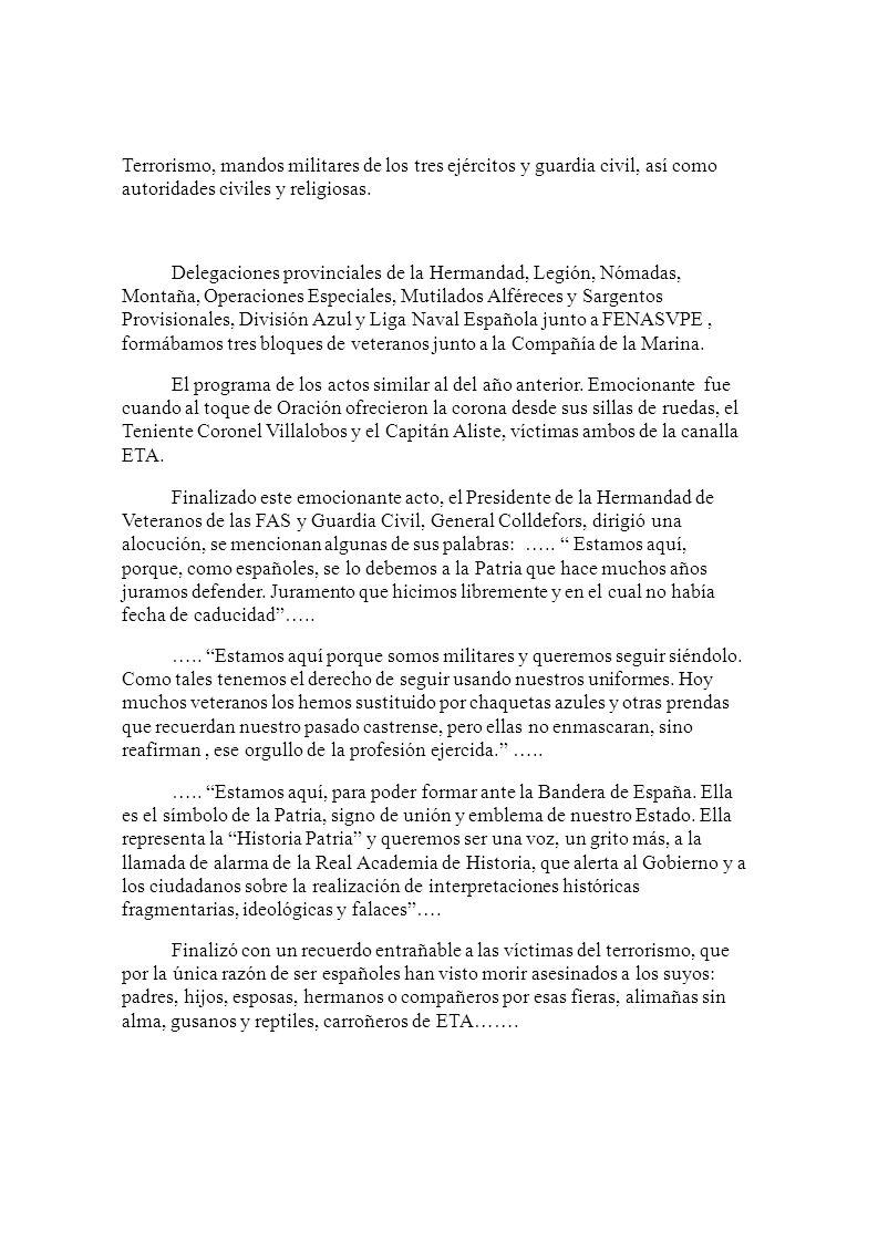 EL JEMA SALUDA A LOS REPRESENTANTES DE LAS ASOCIACIONES