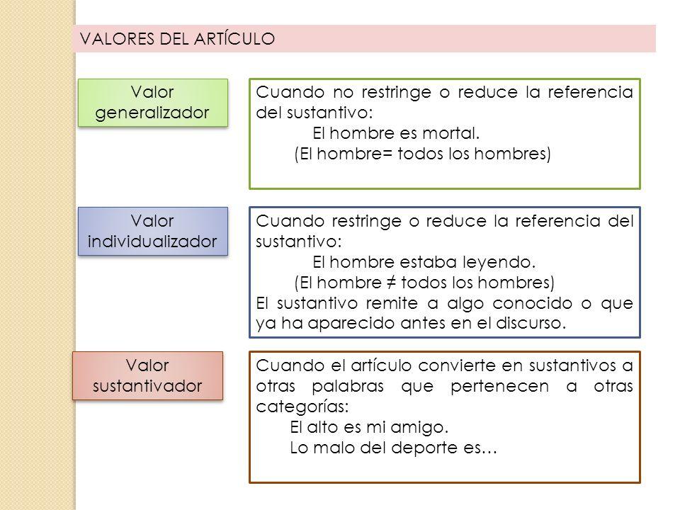 EL ADJETIVO Función 37 La función del adjetivo es ser núcleo del Sintagma adjetival (S Adj).