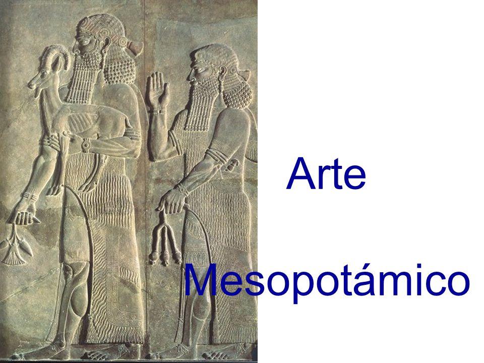 Las obras escultóricas sumerias poseen un profundo carácter religioso.