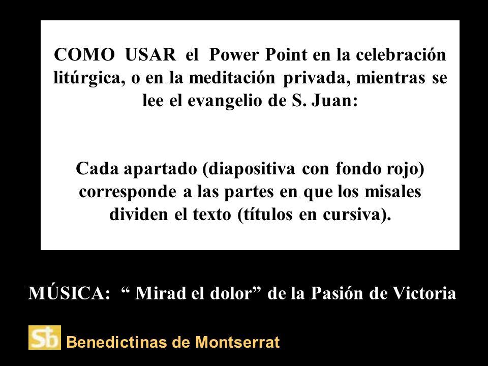 Monjas de Sant Benet de Montserrat Iniciándose la presentación… VitaNoble Powerpoints.WordPress.com.