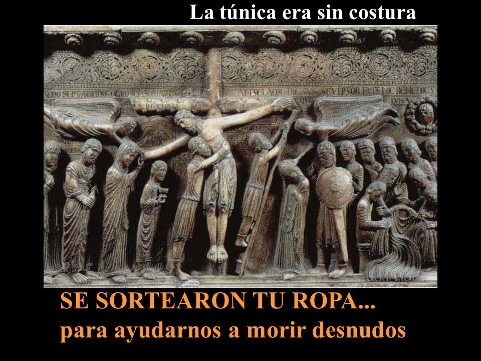 Cuando lo hubieron crucificado...