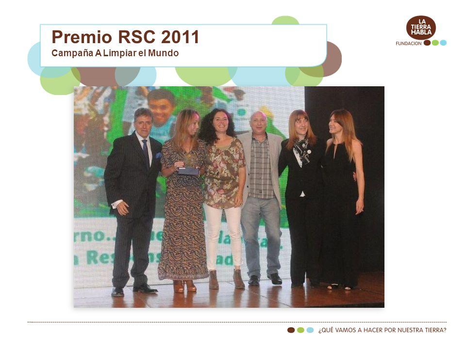 Premio RSC 2011 Campaña A Limpiar el Mundo
