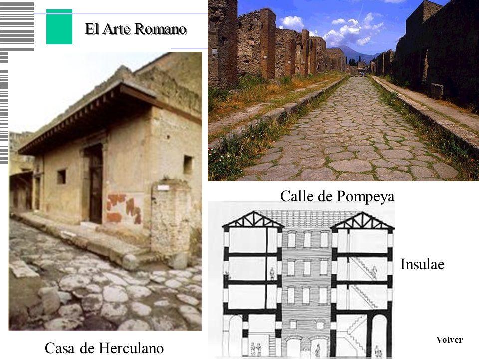 Volver Casa de Herculano Calle de Pompeya Insulae
