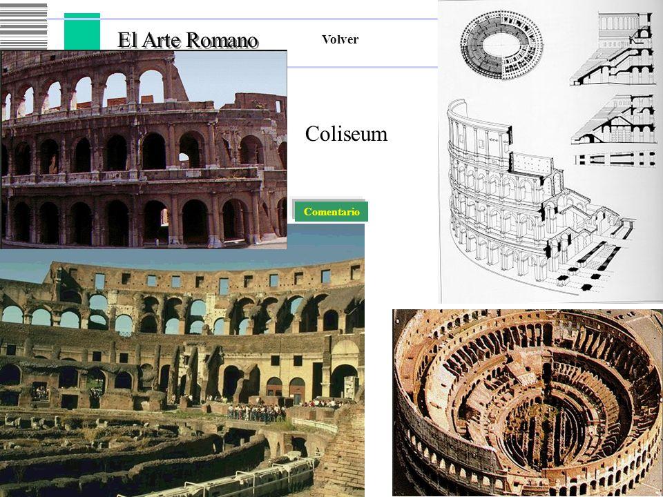 El Arte Romano El Arte Romano Volver Coliseum Comentario