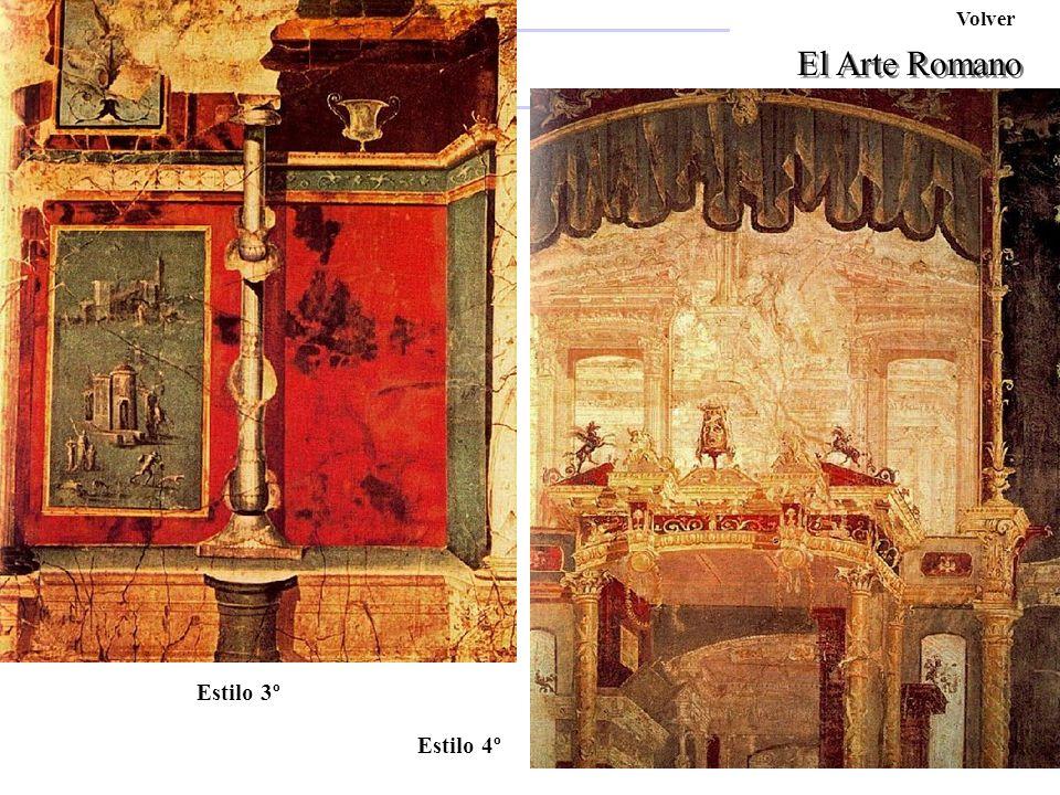 Volver Afrodita Pompeyo El Arte Romano Ara Pacis Estilo 3º Estilo 4º