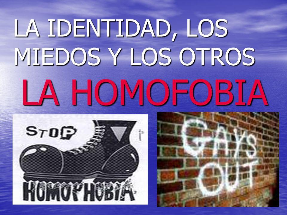 HOMOSEXUAL : ATRACCION SEXUAL HACIA PERSONAS DEL MISMO SEXO (GAYS, LESBIANAS).
