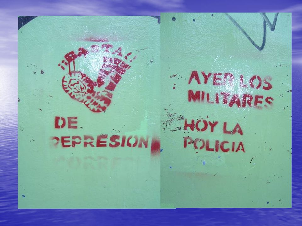 EL RETORNO DE LA DEMOCRACIA EN 1983,TRAJO VIENTOS DE CAMBIO PERO TAMBIEN DE DISCRIMINACION Y REPRESION. EN SINTESISUNA DE CAL Y UNA DE ARENA