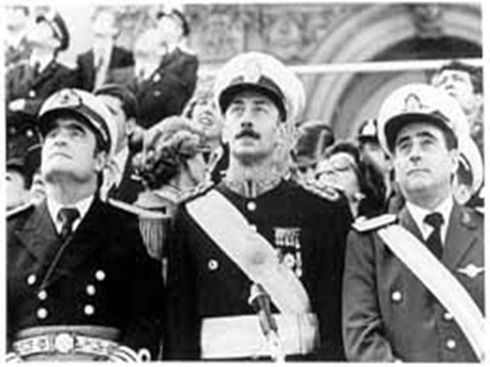 LA DICTADURA MILITAR ARGENTINA (1976 – 1983) PRODUJO : DESAPARICIONES Y PERSECUCION AL DIFERENTE, AL QUE PODIA SUBVERTIR EL ORDEN. DESAPARICIONES Y PE