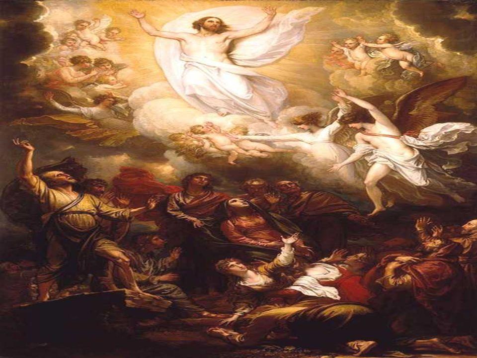 Con la fiesta de la ASCENSIÓN, queremos celebrar: - El Final de la Misión terrena de Cristo, - El Inicio de la Misión salvadora de la Iglesia. Las Lec