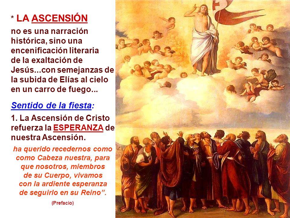 + Resurrección, Ascensión, Pentecostés: ¿3 Momentos distintos? o momentos catequéticos de un único Misterio de fe: la PASCUA DEL SEÑOR: - En la Resurr