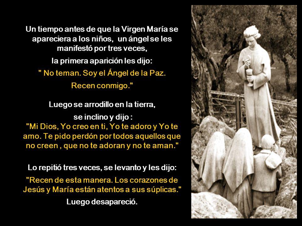 El Secreto de Fátima se hizo público el 13 de mayo del 2000: En la tercera aparición la Santísima Virgen les contó un secreto a los Videntes, éste esta dividido en tres partes, las dos primeras han sido públicamente reveladas en el libro Memorias de Lucía en la década de 1940.