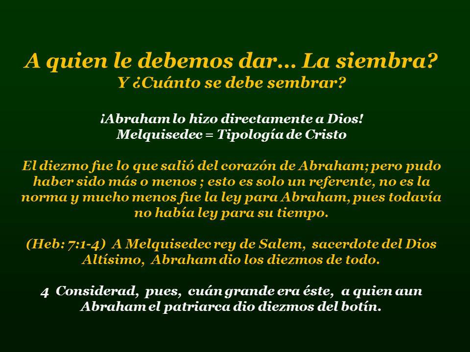 Cuando nosotros damos, lo hacemos de lo que Dios mismo nos da, porque nada nos pertenece; Nosotros somos solo administradores de Dios.
