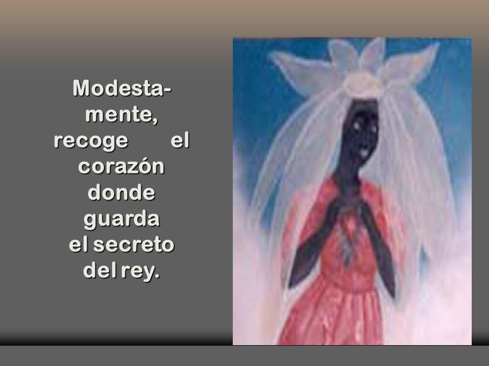 Entre tantas mujeres caribeñas, una Virgen-Flor, una Virgen-Flor, Virgen- Crisálida, Virgen- Crisálida, Virgen- Picaflor, Virgen- Picaflor, Niña y ya
