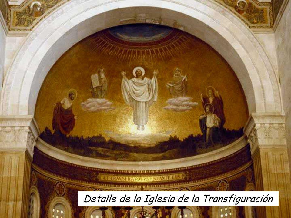 Seis días después, Jesús tomó consigo a Pedro, a Santiago y a Juan, los llevó a solas a un monte alto y se transfiguró ante ellos.