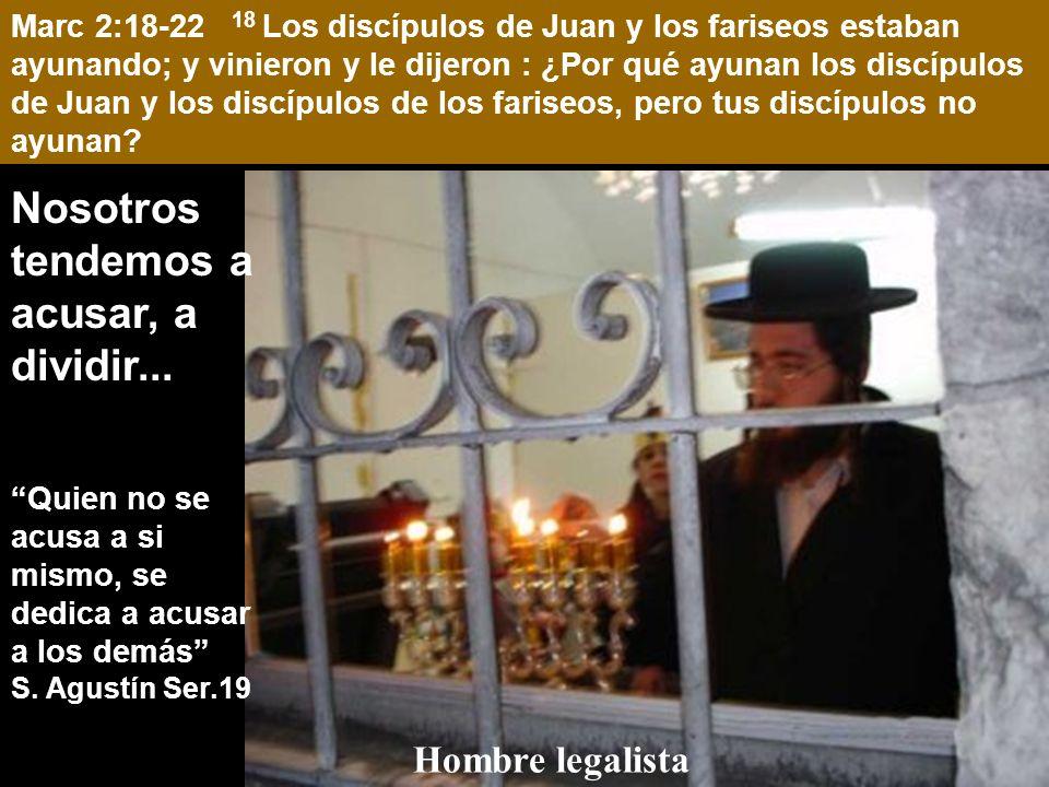 Marc 2:18-22 18 Los discípulos de Juan y los fariseos estaban ayunando; y vinieron y le dijeron : ¿Por qué ayunan los discípulos de Juan y los discípulos de los fariseos, pero tus discípulos no ayunan.