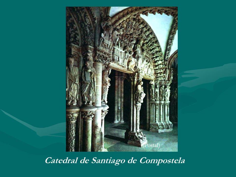 Catedral de Santiago de Compostela (Postal)
