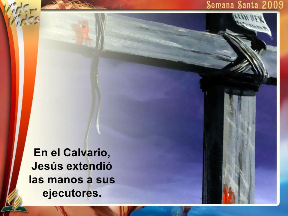 Jesús había subido a su último púlpito.