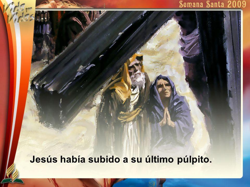 En su hora de agonía, Jesús no pide por él; ora por los otros.