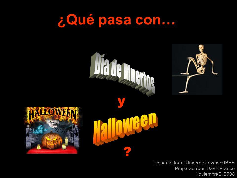 www.jesus24x7.org Hoy en día, la celebración del Día de Muertos y el Halloween es tan común, que los cristianos han entrado en el debate de la participación o la no participación en estas fiestas.