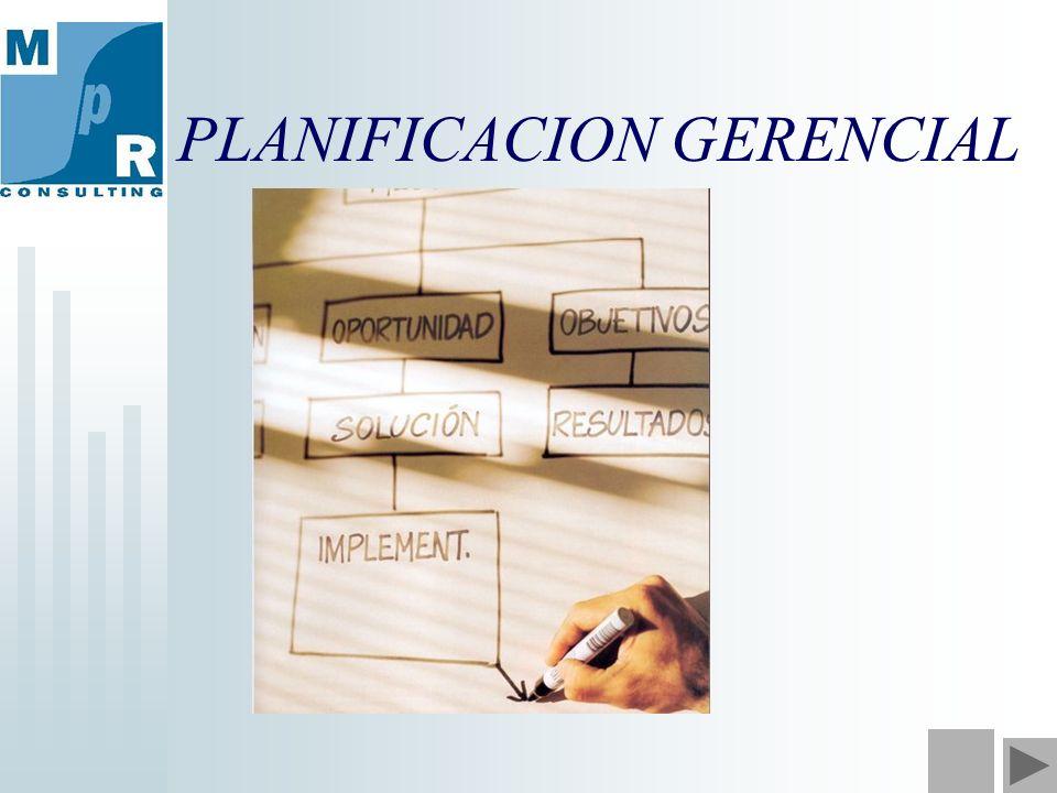 PLANIFICACION GERENCIAL