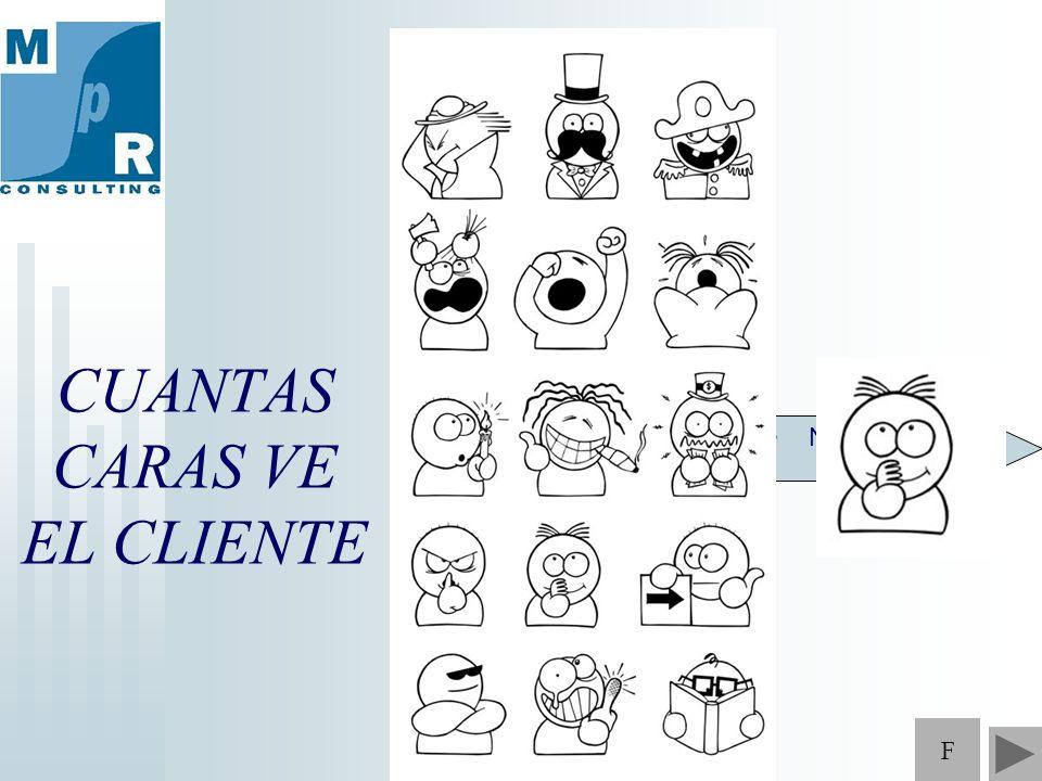 CUANTAS CARAS VE EL CLIENTE NORMALIZAR F
