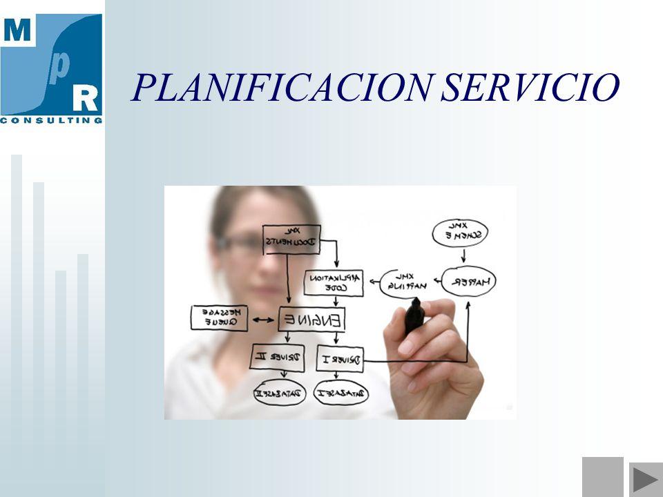 PLANIFICACION SERVICIO