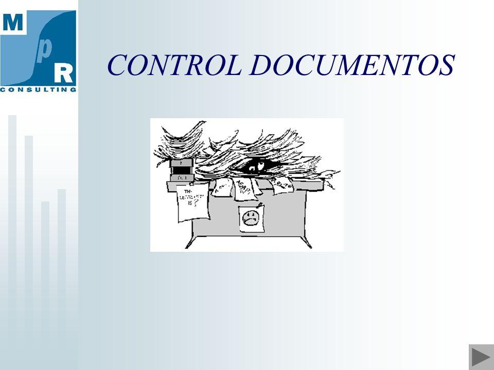 CONTROL DOCUMENTOS