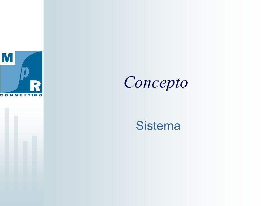 Concepto Sistema